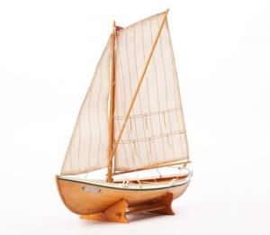 Norweska łódź Torborg BB910 drewniany model statku