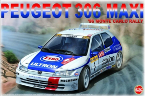 NuNu PN24009 Samochód Peugeot 306 Maxi model 1-24
