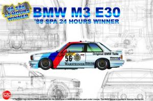 NuNu PN24017 Samochód BMW M3 E30 model 1-24