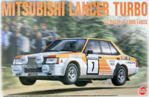 NuNu PN24018 Samochód Mitsubishi Lancer Turbo model 1-24