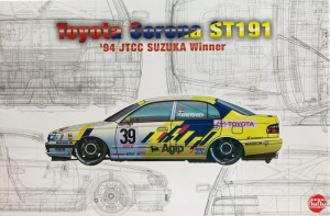 NuNu PN24020 Samochód Toyota Corona ST191 model 1-24
