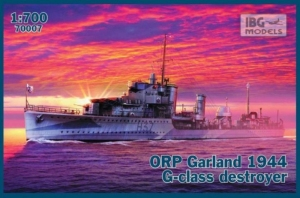 ORP Garland 1944 G-klasa niszczyciel IBG 70007