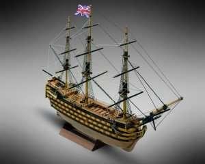 Okręt HMS Victory - Mamoli MM12 - drewniany model w skali 1-325