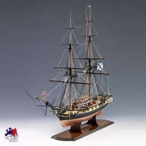 Okręt Mercury - Amati 1300/06 - drewniany model w skali 1:64