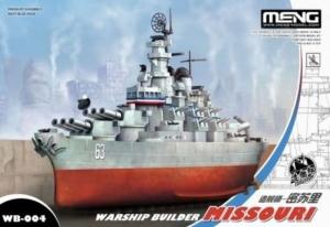 Okręt Missouri edycja dla dzieci Meng WB-004