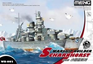 Okręt Scharnhorst edycja dla dzieci Meng WB-002