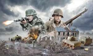 Operacja Cobra 1944 - zestaw Italeri 6116