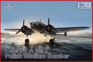 PZL. 37A bis I Łoś polski średni bombowiec IBG 72512