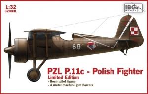 PZL.P11C polski myśliwiec 1-32 limitowana edycja IBG 32003L