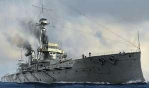 Pancernik HMS Dreadnought 1907 1:700 Trumpeter 06704