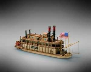 Parostatek Mississippi Mamoli MM13 drewniany model 1-206
