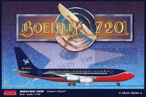 Pasażerski Boeing 720 model Roden 318