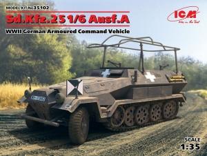 Pojazd dowodzenia Sd.Kfz.251/6 Ausf.A ICM 35102