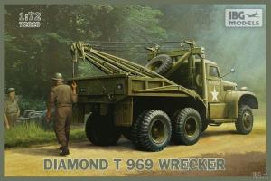 Pojazd holowniczy Diamond T 969 model IBG 72020