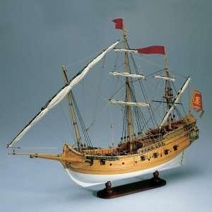 Polacca Veneziana Amati 1407 drewniany model 1:150