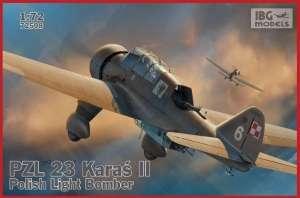 Polski samolot PZL 23 Karaś II IBG 72508