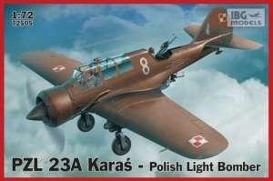 Polski samolot PZL 23A Karaś IBG 72505