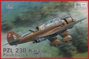 Polski samolot PZL 23B Karaś IBG 72507