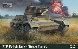 Polski czołg 7TP jednowieżowy IBG Models 35069