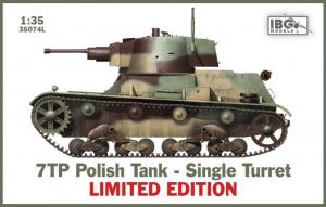 Polski czołg 7TP jednowieżowy IBG Models 35074L limitowana edycja