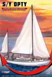 Polski jacht kilowy S/Y Opty 508002