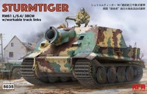 RFM 5035 Działo pancerne Sturmtiger model 1-35