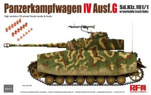 RFM 5053 Czołg Panzerkampfwagen IV Ausf.G model 1-35