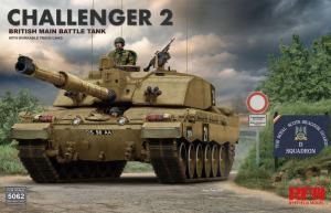RFM 5062 Czołg Challenger 2 model 1-35