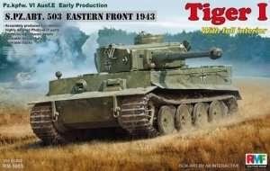 RFM RM-5003 Tiger I Pz.Kpfw.VI Ausf.E w/Full Interior