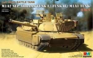 RFM RM-5004 M1A2 Sep Abrams Tusk I / Tusk II / M1A1 Tusk