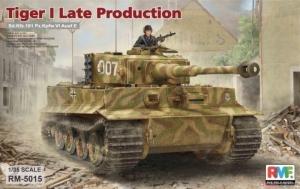 RFM RM-5015 Czołg Sd.Kfz.181 Pz.Kpfw.VI Ausf.E Tiger I Late Production