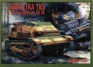 RPM 35011 Tankietka TKS z 20mm NKM wz 38 FK