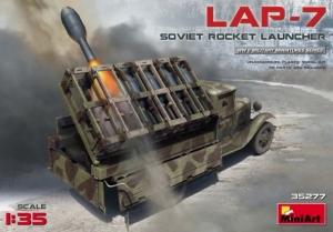 Radziecka wyrzutnia rakiet LAP-7 MiniArt 35277