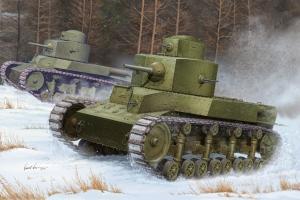 Radziecki czołg średni T-24 Hobby Boss 82493