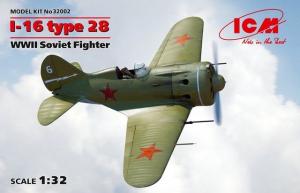 Radziecki myśliwiec I-16 typ 28 model ICM 32002