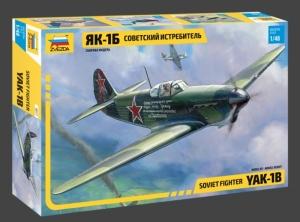 Radziecki myśliwiec Yak-1B Zvezda 4817