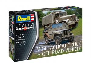 Revell 03260 Ciężarówka M34 oraz Jeep Willys