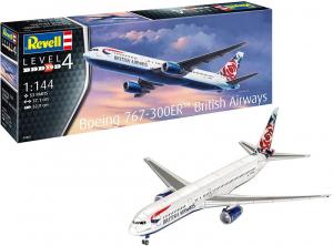 Revell 03862 Samolot pasażerki Boeing 767-300ER model 1-144