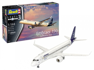 Revell 03883 Samolot pasażerski Embraer 190 Lufthansa