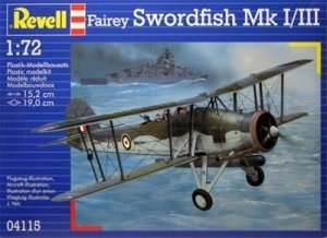 Revell 04115 Fairey Swordfish Mk. I/III