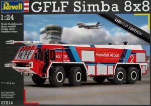Revell 07514 Wóz strażacki GFLF Simba 8x8 model 1-24
