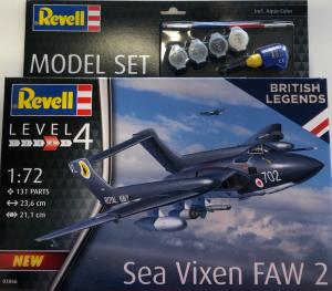 Revell 63866 Zestaw modelarski Sea Vixen FAW 2 model 1-72