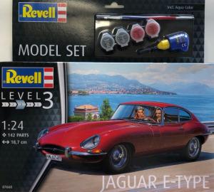 Revell 67668 Zestaw modelarski Jaguar E-Type model 1-24