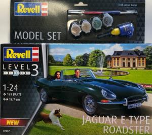 Revell 67687 Zestaw modelarski Jaguar E-Type Roadster model 1-24