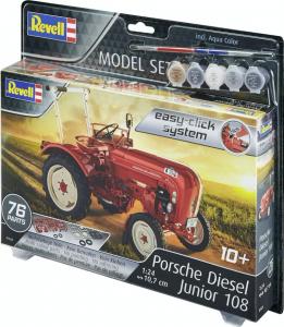 Revell 67820 Zestaw modelarski traktor Porsche Diesel Junior 108 model 1-24