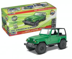 Revell 85-1695 Samochód terenowy Jeep Wrangler Rubicon model 1-25