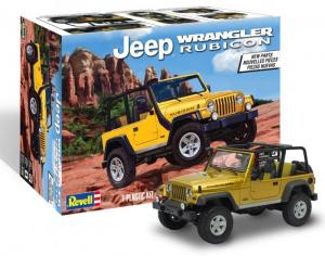 Revell 85-4501 Samochód terenowy Jeep Wrangler Rubicon model 1-25