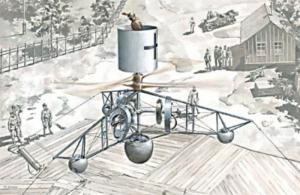 Roden 008 Austro-węgierski śmigłowiec PKZ-2 model 1-72