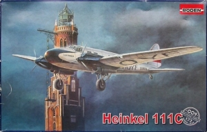 Roden 009 Samolot Heinkel 111C skala 1-72