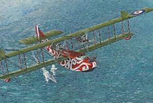 Roden 019 Samolot Felixstowe F.2A model 1-72